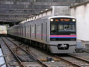 Keisei Chihara Line - Keisei 3000 series EMU on the Chihara Line, October 2010