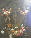 Kessel, Peter - Blumenstück mit Monstranz - 17th c.jpg