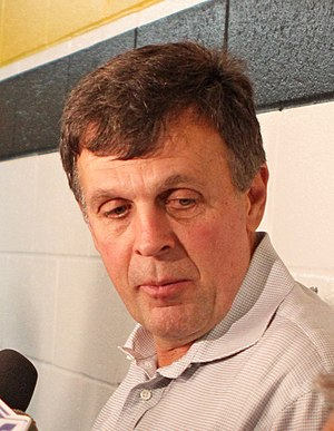 Kevin McHale (basketball) - McHale in a 2012 press conference