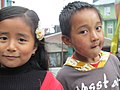 Kids in Lava, WB.JPG