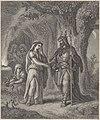 Kiejstut, Biruta. Кейстут, Бірута (A. Lesser, 1872).jpg