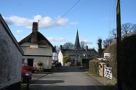 King's Nympton, towards the church - geograph.org.uk - 319193.jpg