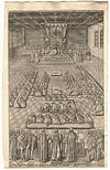 James I addresses the English House of Commons in 1608
