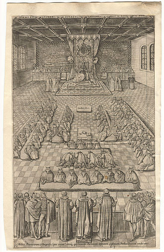 Oath of Allegiance (United Kingdom) - James I and VI in the English Parliament