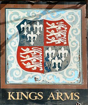 Royal Arms of England - Image: Kings Arms, Blakney, Norfolk
