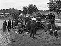 Kistarcsa 1944. felborult teherautó. Fortepan 72733.jpg