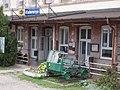 Kisterenye railway station, draisine, 2020 Bátonyterenye.jpg