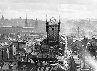 Klara (Stockholm) - Old Klara, with the former Telephone Tower