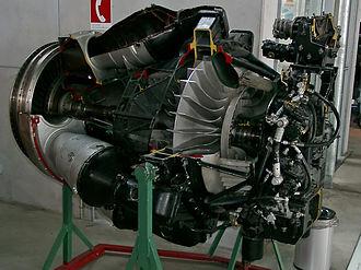 Klimov VK-1 - Sectioned Klimov VK-1.