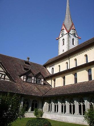 Stein am Rhein - Image: Kloster Sankt Georgen in Stein am Rhein 0073