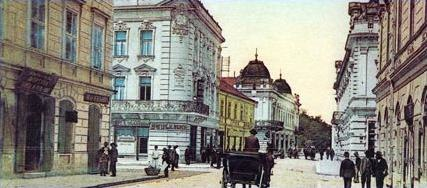 Knez Mihailova, Serbia, XIX century