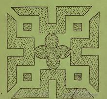 Little moreton hall wikipedia the free encyclopedia for Tudor knot garden designs