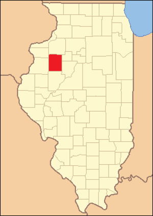 Knox County, Illinois - Image: Knox County Illinois 1839