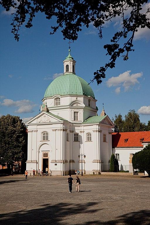 Kościół Sakramentek pod wezwaniem św. Kazimierza, Warszawa Rynek Nowego Miasta 2
