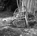 Koš za listje, doma narejen, Velike Češnjice 1950.jpg