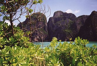 The Beach (film) - Ko Phi Phi Leh
