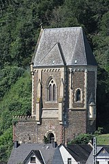 Kobern-Gondorf, Schlosskapelle, Nordost - 1 (2021-07-30 Sp).JPG