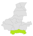 Kohistan district location in map of Faryab province.png