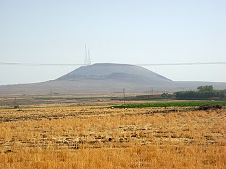 Rojava - Sharat Kovakab, a volcano near the city of Al-Hasakah