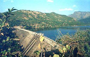 Kolkewadi Dam - Kolkewadi Dam from a distance