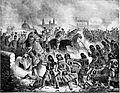 Komárom, kirohanás a várból 1849 ápr 24.jpg