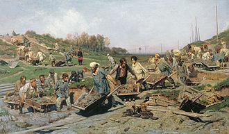 Peredvizhniki - Image: Konstantin Apollonowitsch Sawizkij 001