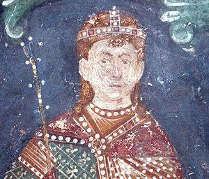 Stefan Konstantin - Gračanica fresco