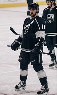 Anže Kopitar Slovenian ice hockey player