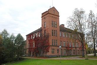 Juupajoki - Image: Korkeakosken vanha kenkätehdas, Juupajoki