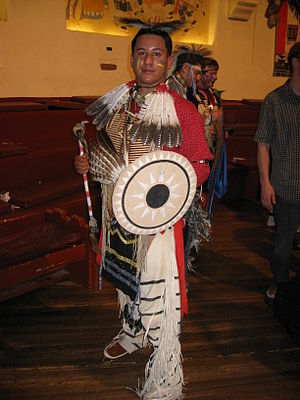 Koshare Indian Museum and Dancers - Koshare Sioux Warrior