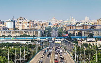 How to get to Комсомольский Проспект with public transit - About the place