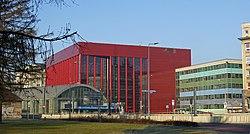 Krakow Opera house, 2008 by arch. Romuald Loegler, 48 Lubicz street, Kraków, Poland.jpg