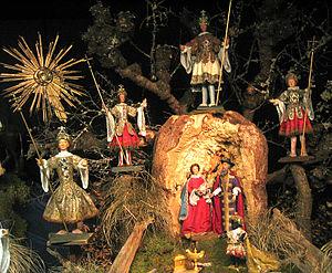 Christmas Eve - A nativity scene