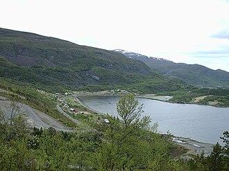Kvenvik - View of the village
