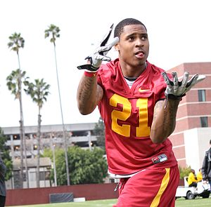 Kyle Prater - Prater with the USC Trojans in 2011