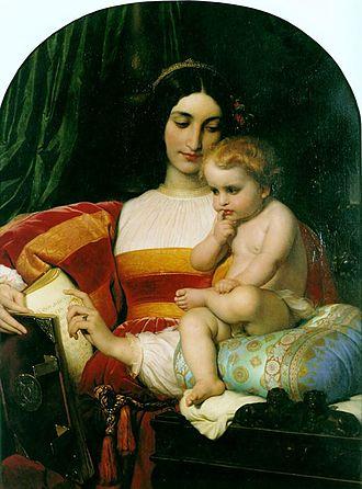 Giovanni Pico della Mirandola - The Childhood of Pico della Mirandola by Hippolyte Delaroche, 1842, Musée d'Arts de Nantes