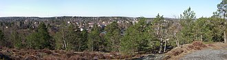 Älvsjö (borough) - View of Långsjö