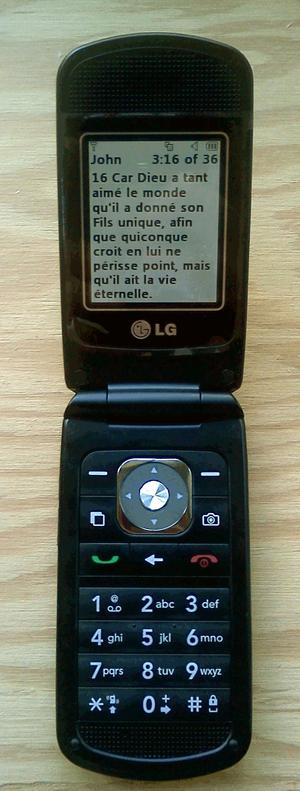 Clearnet (Telus Mobility) - Image: LG Madison