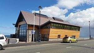 Llandudno Lifeboat Station - The new Llandudno Lifeboat Station (2017) on the promenade at Craig-y-Don