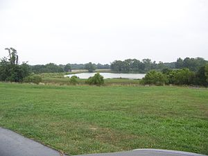 Long Run massacre - Lake in area of the massacre as it appears in 2008