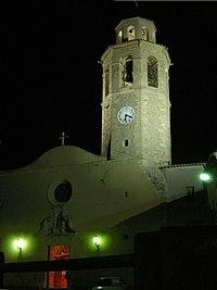 La Granada del Penedès església pel vespre.jpg