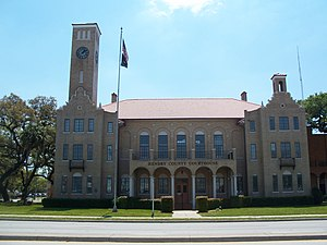 Old Hendry County Courthouse - Image: Labelle FL crths 01