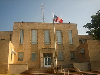 Lewisville, Arkansas - Lafayette County Courthouse in Lewisville