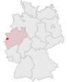 Lage des Kreises Viersen in Deutschland.PNG