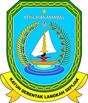 Anambas Islands - Image: Lambang Kabupaten Kepulauan Anambas