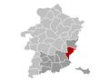Lanaken Limburg Belgium Map.png