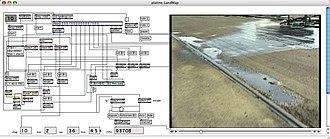Max (software) - Screenshot of an older Max/Msp interface.