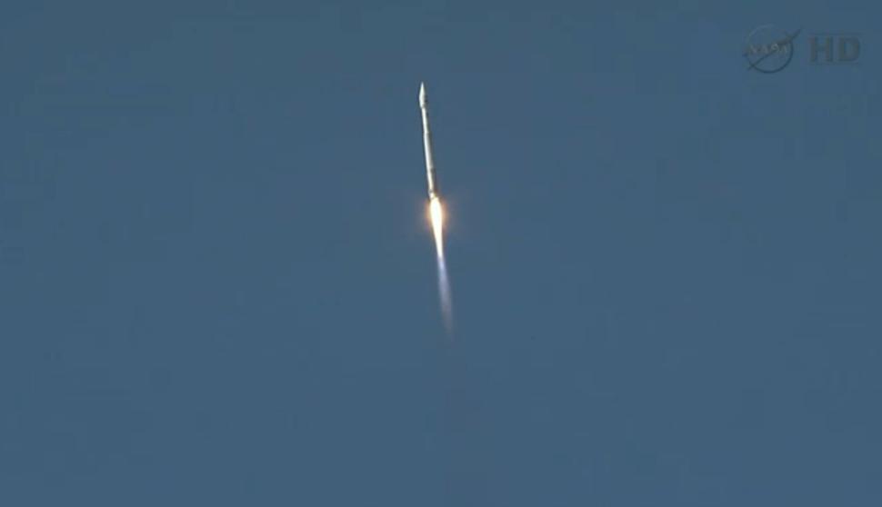 Landsat 8 LDCM Liftoff 5min