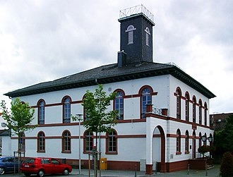 Langen, Hesse - The Old Town Hall in Langen, today used as a museum