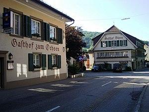 Langenbruck - Buildings in Langenbruck